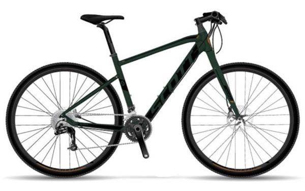 SCOTT SUBCROSS J1 British Dark Green